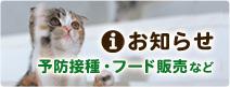 名古屋で土日祝日診療の動物病院パール犬猫病院のお知らせ